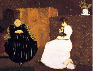Edouard-Vuillard-_The-Chat-also-known-as-Mme-Vuillard-and-Her-Daughter-La-Causette-_