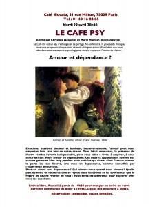 Le Cafe Psy - Invitation 29 04 2014